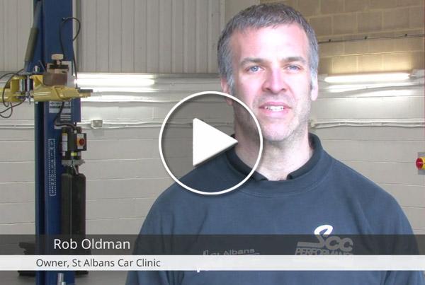 St Albans Garage - testimonial