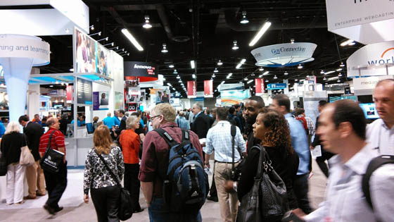 Crowd at Trade Show
